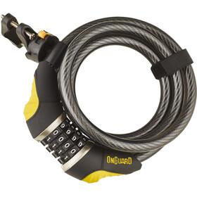 Onguard Dobermann Combo 8031 Spiral Cable Lock 185 cm Ø12 mm